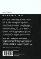 Portrait D'Un Jeune Homme Qui Se Noie - 4ème de couverture - Format classique