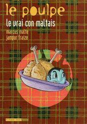Le poulpe t.9 ; le vrai con maltais - Couverture - Format classique