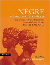 Nègre, négrier, traite des nègres - Intérieur - Format classique