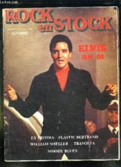 Rock En Stock N° 16 Septembre. Sommaire: Elvis An 01. Expistols, Plastic Bertrand, Scheller William, Travolta, Moody Blues... - Couverture - Format classique