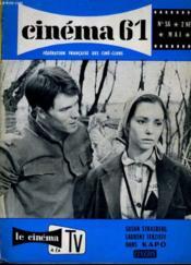 Cinema 61 N° 56 - Susan Strasberg Et Laurent Terzieff Dans Kapo - Couverture - Format classique