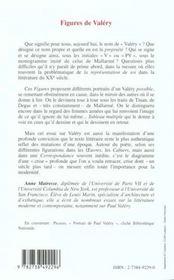 Figures De Valery - 4ème de couverture - Format classique