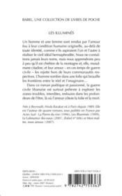 Les illuminés - 4ème de couverture - Format classique