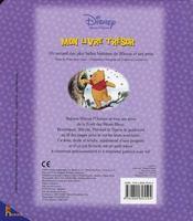 Mon livre trésor Winnie l'ourson - 4ème de couverture - Format classique