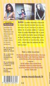 Bjork De A A Z - 4ème de couverture - Format classique