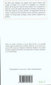 Les galoches rouges - 4ème de couverture - Format classique