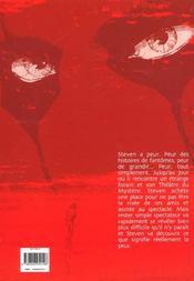 La Derniere Tentation - 4ème de couverture - Format classique