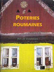 Poteries Roumaines. Art Et Tradition - Intérieur - Format classique
