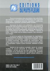 Comment Organiser Un Evenement ; Culturel Sportif Ludique Officiel ; 2e Edition - 4ème de couverture - Format classique