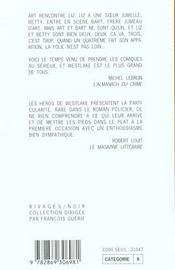 Un Jumeau Singulier - 4ème de couverture - Format classique