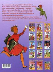 Lili t.7 ; Lili à la campagne - 4ème de couverture - Format classique