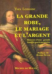La grande robe, le mariage et l'argent - Intérieur - Format classique