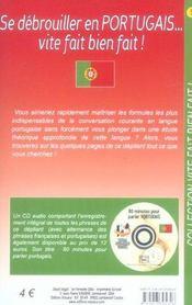 Se Debrouiller En Portugais Vite Fait - Intérieur - Format classique