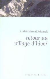 Reour Au Village D'Hiver - Intérieur - Format classique