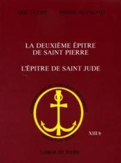 La deuxieme epitre de saint pierre. l'epitre de saint jude - Couverture - Format classique