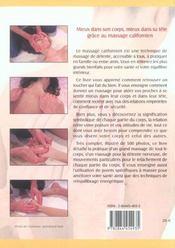 Massage Californien - 4ème de couverture - Format classique
