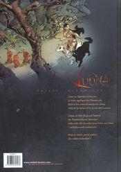Luuna t.1 ; la nuit des totems - 4ème de couverture - Format classique
