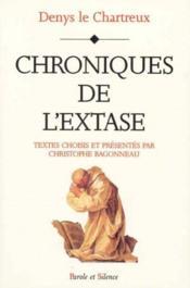 Chroniques De L'Extase - Couverture - Format classique