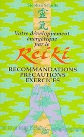 Votre Developpement Energetique Par Le Reiki - Couverture - Format classique