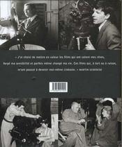 Voyage De Martin Scorsese A Travers Le Cinema Americain - 4ème de couverture - Format classique