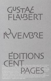 Novembre - Intérieur - Format classique