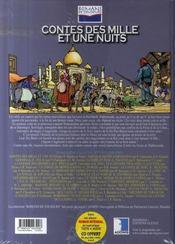 Contes des 1001 nuits, pour l'amour d'une fée - 4ème de couverture - Format classique