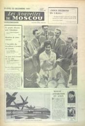 Nouvelles De Moscou (Les) N°51 du 23/12/1961 - Couverture - Format classique