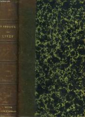 Liszt Ou Les Amours Romantiques. - Couverture - Format classique