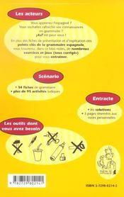 Asi Apprendre Ou Reviser Les Bases De La Grammaire Espagnole En S'Amusant - 4ème de couverture - Format classique