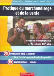 Pratique Du Marchandisage Et De La Vente - Intérieur - Format classique