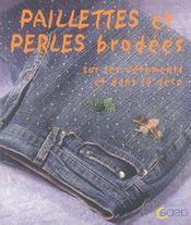 Paillettes et perles brodees - Intérieur - Format classique