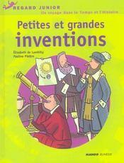 Petites Et Grandes Inventions - Intérieur - Format classique
