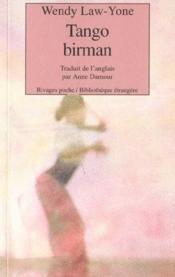 Tango Birman - Couverture - Format classique