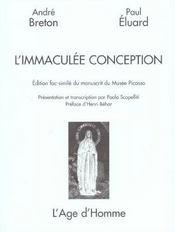 L'Immaculee Conception - Intérieur - Format classique