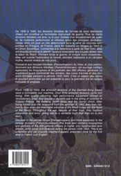 Panzertruppen - 4ème de couverture - Format classique