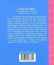 Ne Vous Noyez Pas Dans Un Verre D'Eau A L'Usage Des Femmes - 4ème de couverture - Format classique