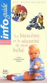 Le bien-être et la sécurité de mon bébé - Intérieur - Format classique