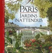 Carnet de paris jardins inattendus - Intérieur - Format classique