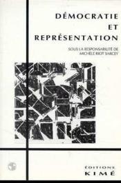 Democratie Et Representation - Couverture - Format classique