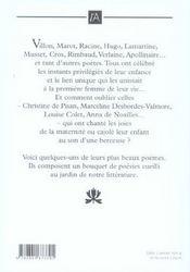 Un Bouquet De Poemes Pour Maman - 4ème de couverture - Format classique