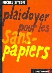 Plaidoyer Pour Les Sans-Papiers - Intérieur - Format classique