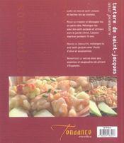 Carpaccios Et Tartares - 4ème de couverture - Format classique