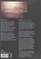 Orsay La Photographie En Francais Ned (édition 2003) - 4ème de couverture - Format classique
