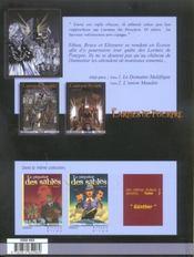 Les Larmes De Pourpre T.3 ; Les Damnes De Dunnottar - 4ème de couverture - Format classique
