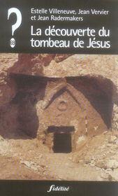 La Decouverte Du Tombeau De Jesus - Intérieur - Format classique