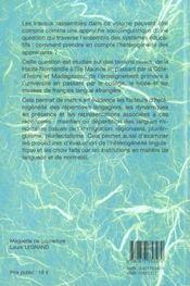 Situations D'Heterogeneite Linguistique En Milieu Scolaire - 4ème de couverture - Format classique