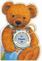 Prier avec les oursons ; psaume 23 - Couverture - Format classique