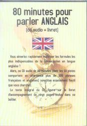 80 Minutes Pour Parler Anglais - Intérieur - Format classique