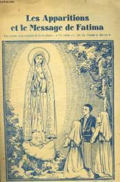 Les Apparitions Et Le Massage De Fatima - Couverture - Format classique
