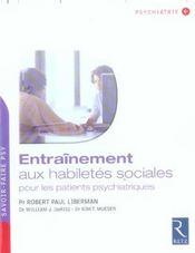 Entrainement Habiletes Sociale - Intérieur - Format classique